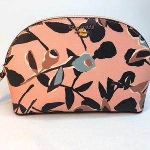 Kate Spade Cameron Paper Rose Medium Dome Cosmetic